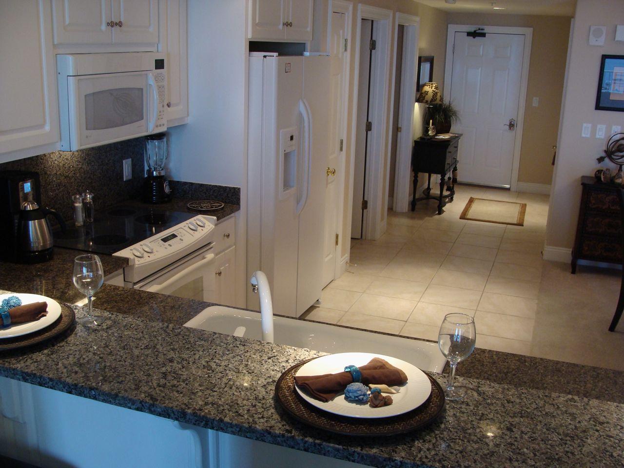 VRBO kitchen