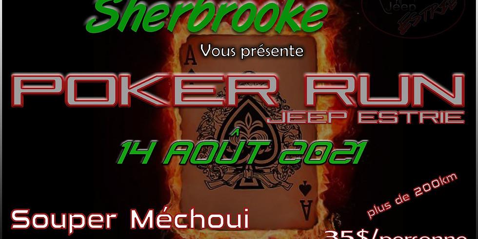 Poker Run Jeep Estrie 2021