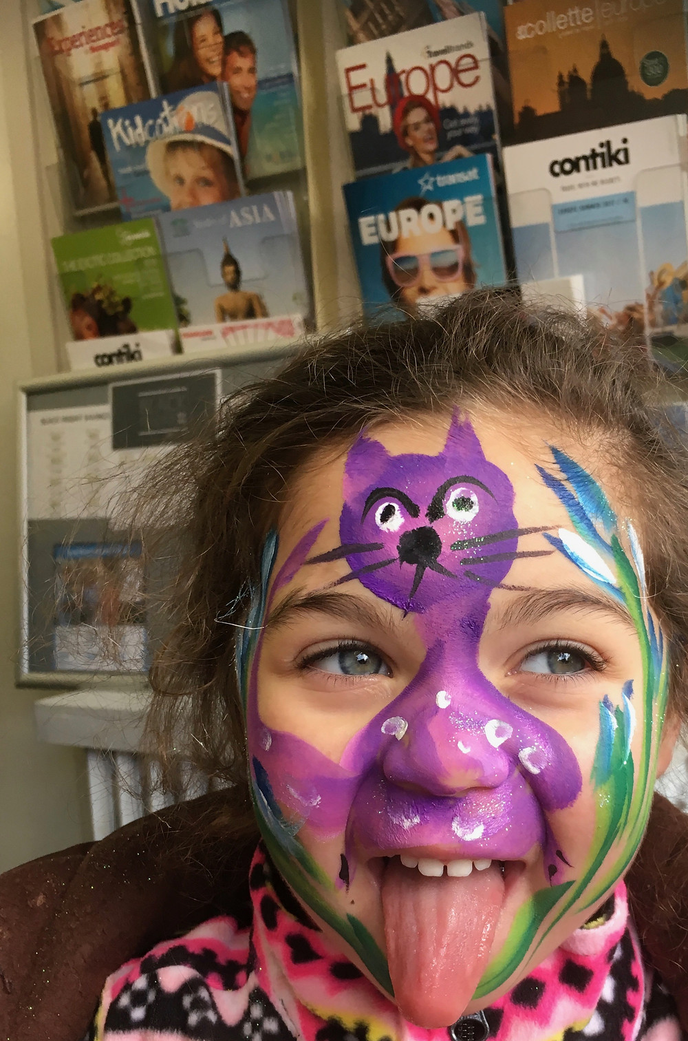 Happy Cat Face Painting in Mississauga