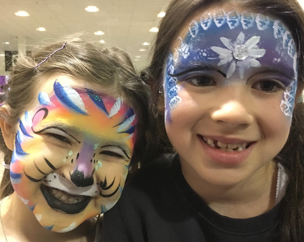 Face Painting, Doodlebug, Mississauga, kids with disabilities