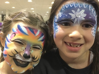 A Face Painting Job Like No Other