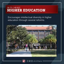 Higher Ed Reform