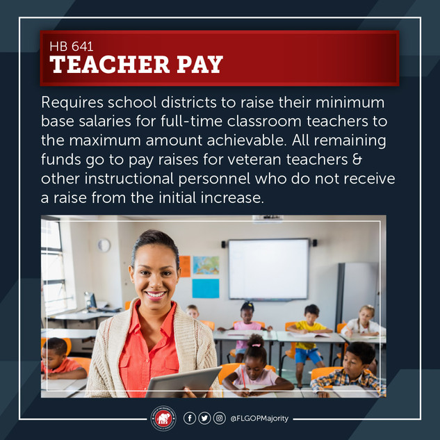 Teacher Pay Raises