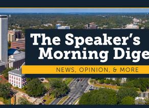 Speaker Jose Oliva's Morning Digest for September 25th