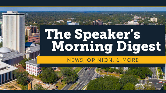 Speaker Jose Oliva's Morning Digest for October 21st