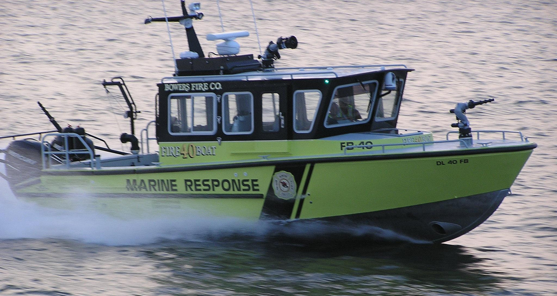 32' Fire-Rescue Boat