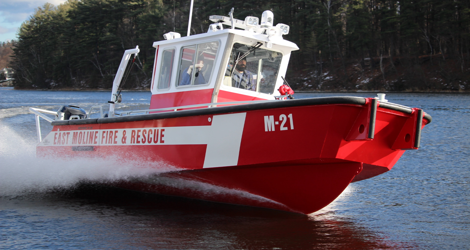 26' Fire-Rescue Boat