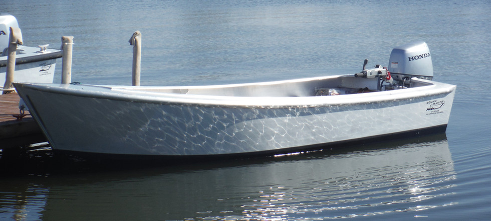 16' flat bottom sharpie skiff