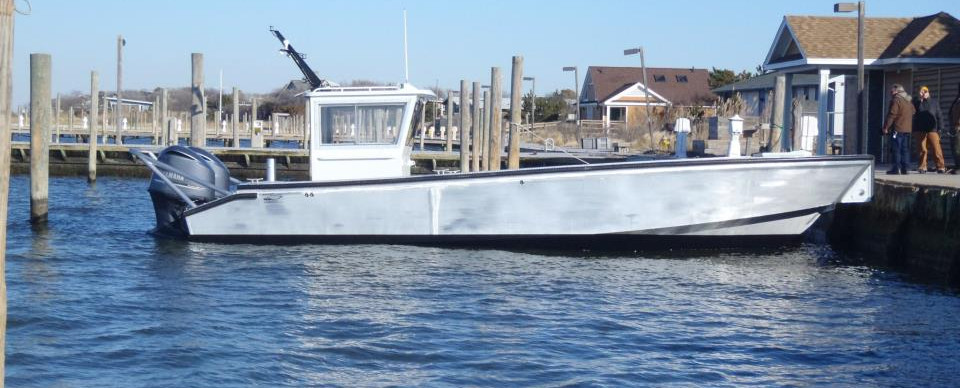 34' OSRV, High Speed Boom Boat