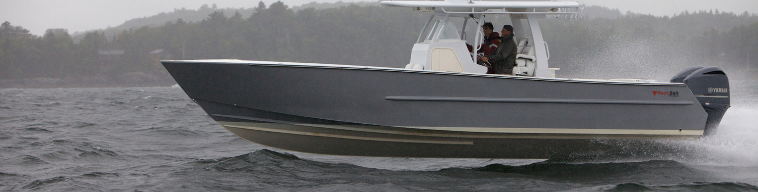 Rock Salt 34' Center Console
