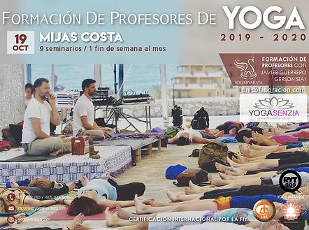 curso de yoga en fuengirola 2021