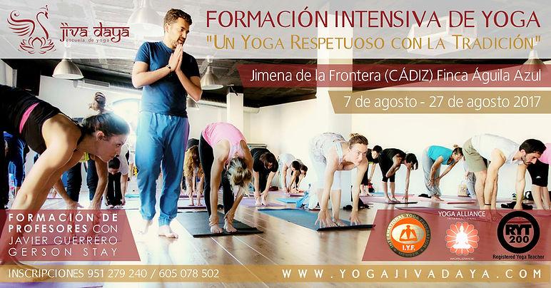 curso intensivo de yoga