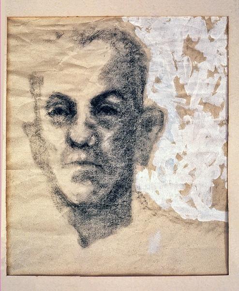 1966 - PORTRAIT OF WALT - Charcoal on Paper