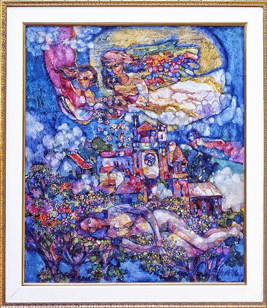 1975 - DREAM BLESSING - Oil on Canvas - 50X60