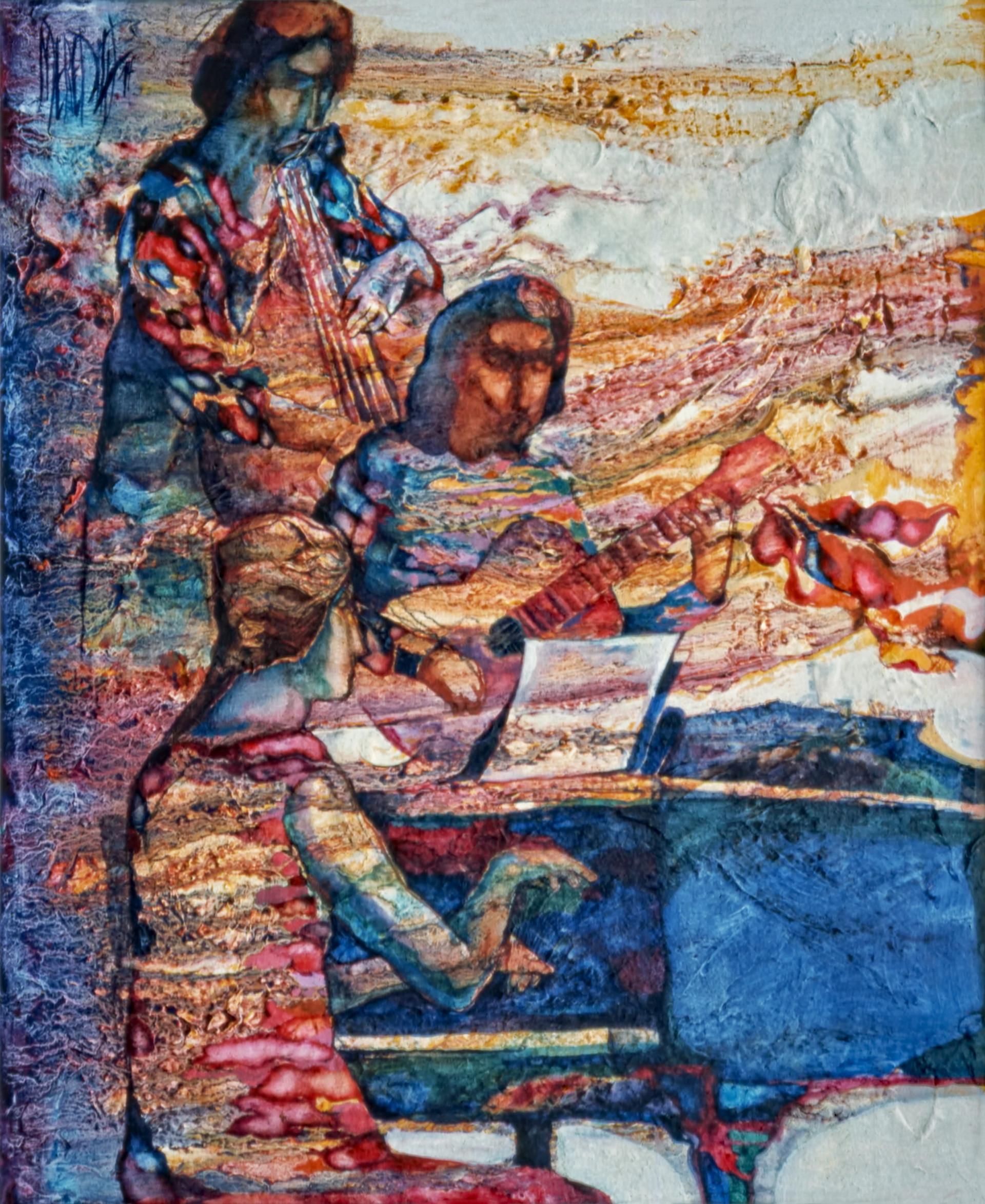 1976 - MUSICAL RHAPSODY - Oil on Canvas - 25X30