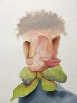 Man with a bow tie (sold)