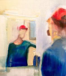 Self portrait (personnal collection)