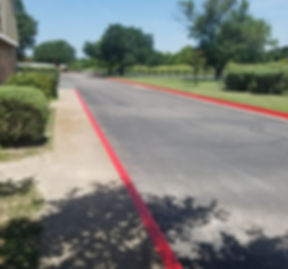 Fire lane striping | Striping in Round Rock, TX