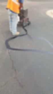 Crack sealing   Texan Paving