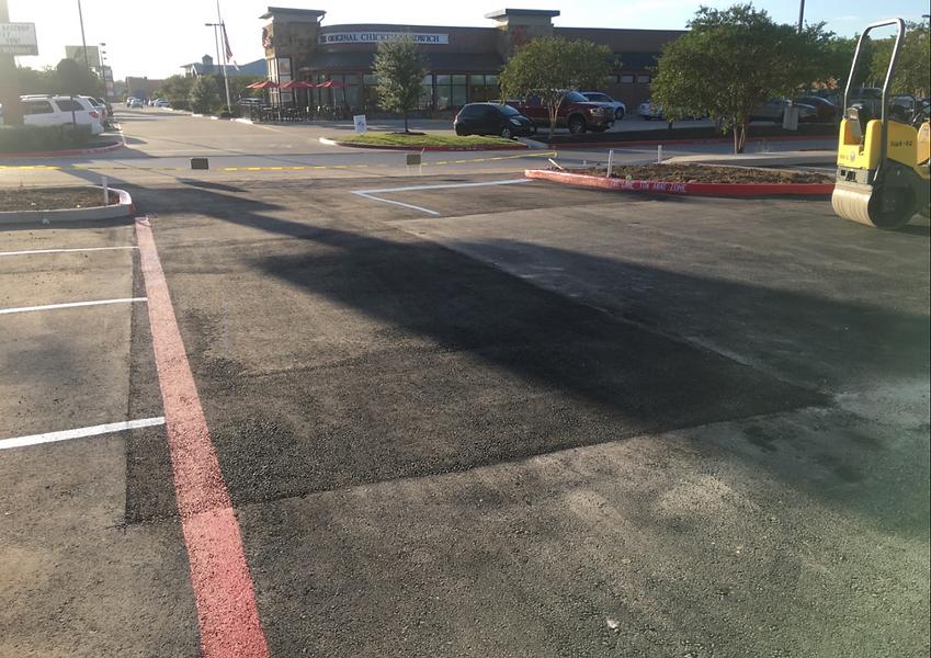 Commercial asphalt patch in Austin, TX | Asphalt repair Contractors