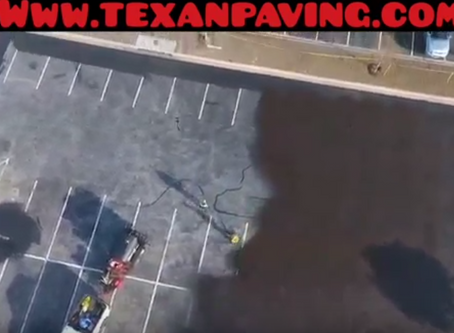Asphalt SealCoating | Parking Lot Maintenance | Texan Paving