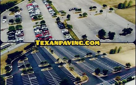 Asphalt sealcoating in Austin Texas | Texan Paving