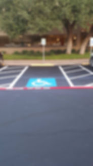 Parking lot Sealcoating | Dripping Springs, TX