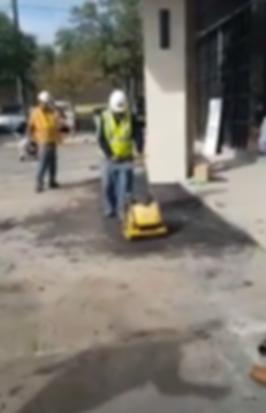 Parking Lot repair   Texan Paving