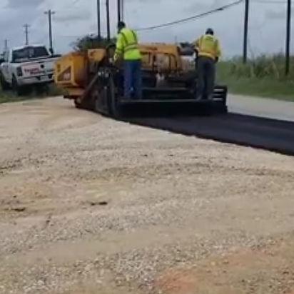Commercial asphalt paving   Parking lot Install