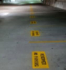 Striping | Pavement maintenance