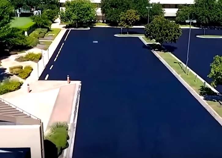 Parking lot Sealcoating | Temple, TX