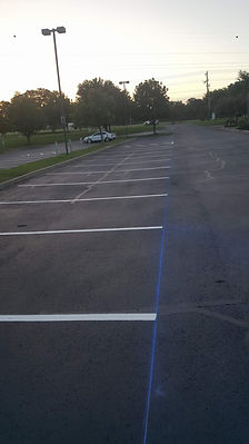 Parking Lot Striping | Texan Paving
