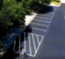 Parking lot striping company in Leander