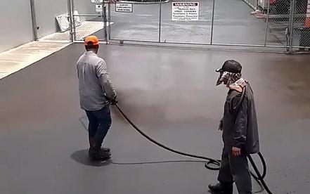 Parking lot sealing Austin TX, Seal coat