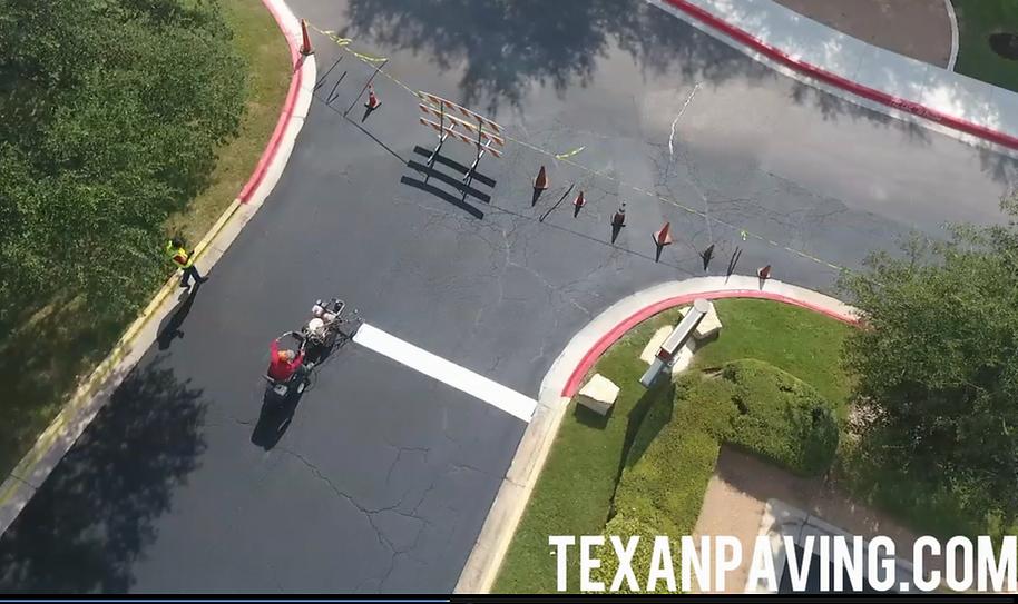 Parking lot striping | Lakeway, Texas