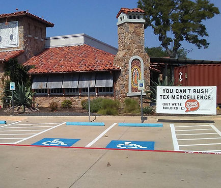 Parking lot Striping in Round Rock, TX | Striping Company