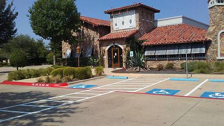 Parking lot Striping in Buda TX