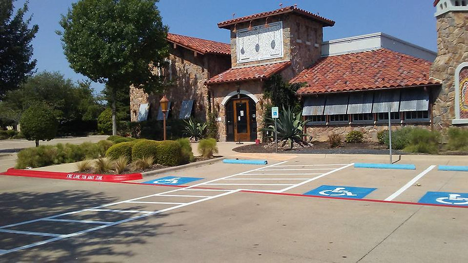 Striping | Parking Lot Maintenance in Cedar Park, TX