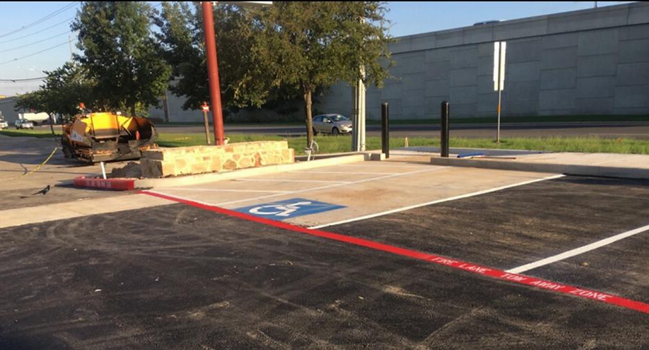 Commercial asphalt paving in Austin, TX | Asphalt Contractors