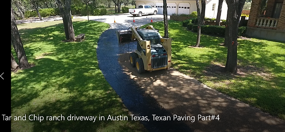 Asphalt Chip Seal in Austin, TX | Texan Paving