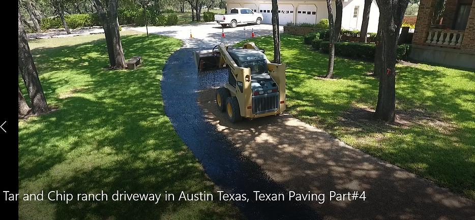 Asphalt Chip Seal in Austin, TX | Texan Paving