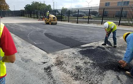 Asphalt repair contractors in Austin, TX