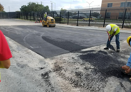 Commercial asphalt repair in Lakeway Texas