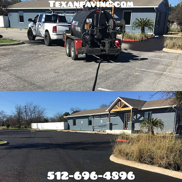 Asphalt Seal Coat Tank | Texan Paving