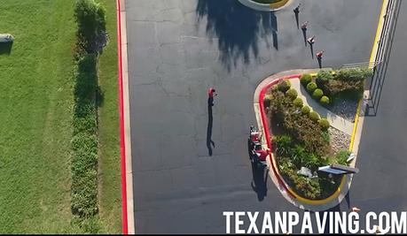 Parking lot Sealcoating in Pflugerville, TX
