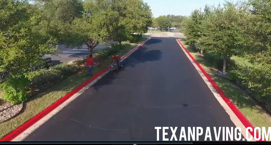 Asphalt maintenance in Cedar Park, TX