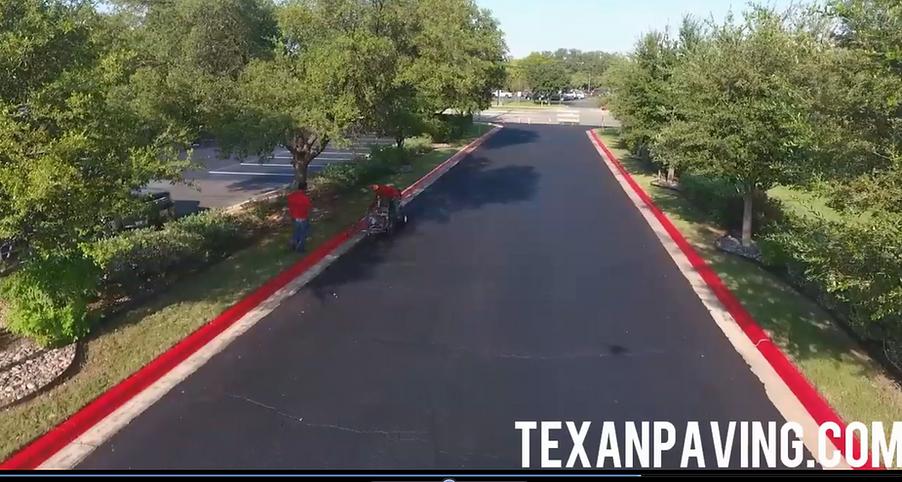 Lot striping | Lakeway, Texas