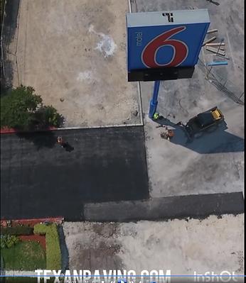 Parking lot repair | Asphalt maintenance
