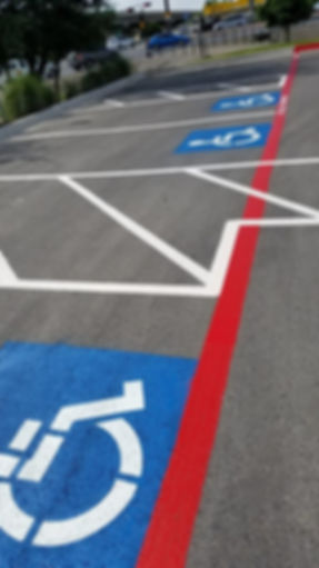 Striping | Stenciling | Parking lot striping in Austin, TX
