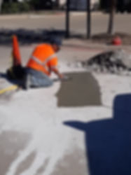 Concrete curb repair Georgetown Texas | Texan Paving